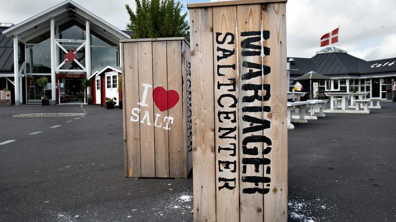 Mariager Salt, Fjord og By