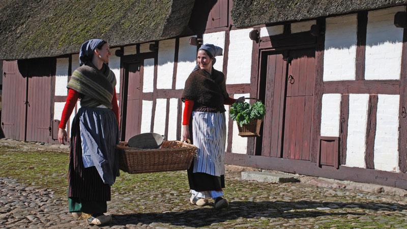 Glud Frilandsmuseum og Juelsmindehalvøen