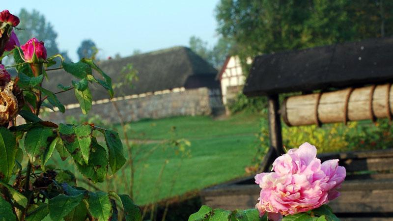 Glud Frilandsmuseum og vikingehistorier i Jelling