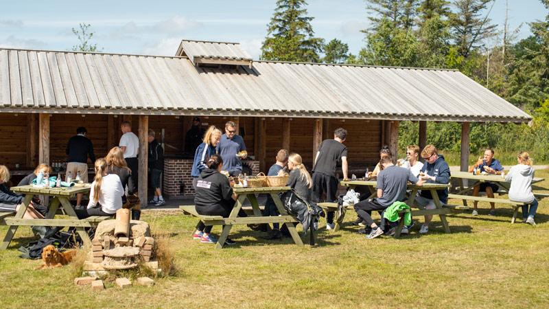 Naturcenter Tønnisgård: Vadehavshotdog - Foto: SpotOn Studios